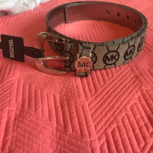 "Michael Kors ""MK"" belt"